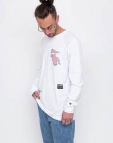 Champion Wood Wood Long Sleeve Crewneck T-Shirt OPW L