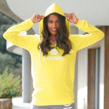 Blancheporte Mikina s kapucí Lounge žlutá 50