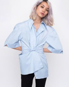 House of Sunny The Thinker Shirt Muted Blue 36