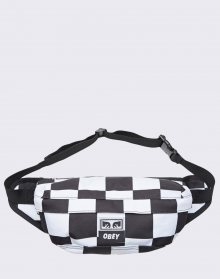 Obey Drop Out Sling Pack Checker