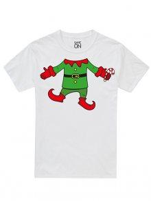Christmas T-shirt Pánské tričko GOMTS052WHT\n\n
