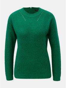 Zelený svetr se zipem na zádech Dorothy Perkins