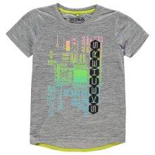 Chlapecké volnočasové tričko Skechers