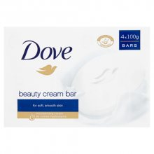 Dove Krémová tableta (Beauty Cream Bar) 4 x 100 g