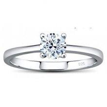 Silvego Stříbrný prsten MADISON se Swarovski Zirconia JJJR2339sw 49 mm