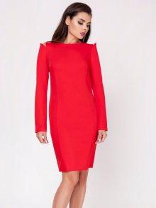 Naoko Dámské šaty AT128_RED\n\n