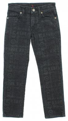 Jeans dětské John Richmond   Černá   Chlapecké   6 let