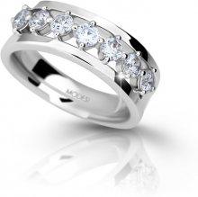 Modesi Stříbrný prsten se zirkony M11084 52 mm