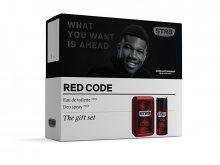 STR8 Red Code - EDT 100 ml + deodorant ve spreji 150 ml