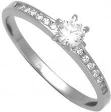 Brilio Silver Stříbrný zásnubní prsten 31G3042 56 mm