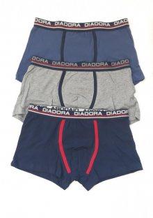 Pánské boxerky Diadora 6008 3 PACK M Mix