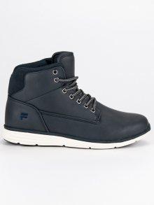 Sportovní modré pánské kotníkové boty