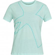 Under Armour Triblend Graphic Ss Tee modrá XS