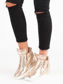 Zlaté sneakersy