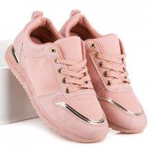 Skvělé růžové sportovní tenisky na pohodlné podrážce