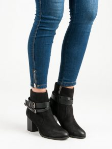 Stylové botky na podpatku