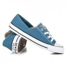 Moderní modré dámské tenisky Converse