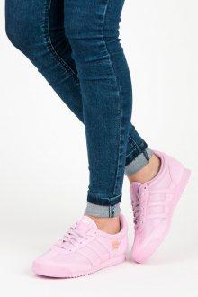 Krásné růžové textílní tenisky zn.Adidas
