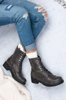 DIAMANTIQUE Dámské kotníkové boty ML11G