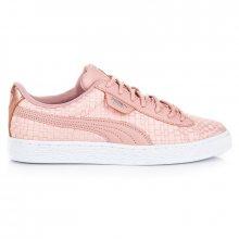 Krásné růžové textilní tenisky se vzorem zn.Puma