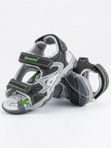 HASBY Dětské sandálky S2359DK.G
