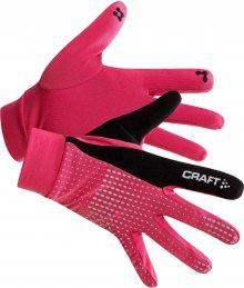 Craft Unisex běžecké rukavice_růžová\n\n