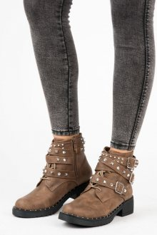 CINK ME Dámské kotníkové boty H2028-5KH