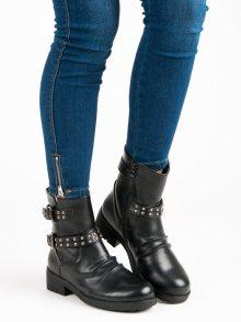J. STAR Dámské kotníkové boty S1853-1B