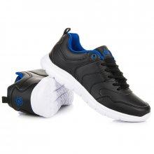Pohodlné černo-modré pánské tenisky