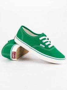 Nádherné zelené tenisky