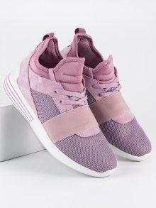 Sportovní růžové tenisky