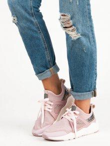 Stylové růžové tenisky od značky Fila
