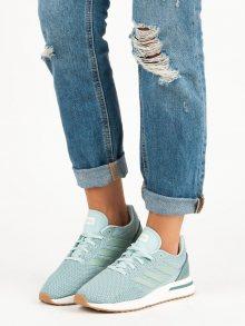 Modré dámské tenisky značky Adidas