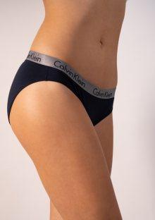 Dámské kalhotky Calvin Klein QD3540 XS Tm. modrá