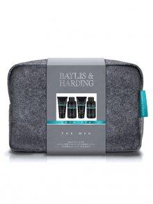 Baylis & Harding Pánská dárková sada v toaletní tašce - Jantar a Santalové dřevo\n\n