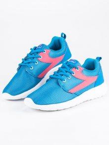 Textilní sportovní modré tenisky