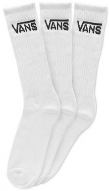 VANS Balení 3ks ponožek Classic Crew White VN000XSEWHT1 38,5-42