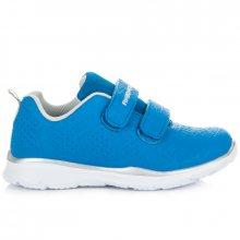Módní modré dětské tenisky na suchý zip