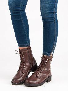 ANESIA PARIS Dámské kotníkové boty BO-193BR