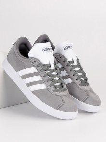 Kožené šedé tenisky značky Adidas
