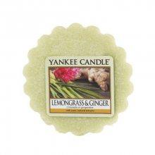 Yankee Candle Vonný vosk do aromalampy Citrónová tráva a zázvor (Lemongrass & Ginger) 22 g