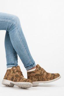 IDEAL Dámské kotníkové boty W-3056C