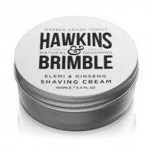 Hawkins & Brimble Hydratační krém na holení s vůní elemi a ženšenu (Elemi & Ginseng Shaving Cream) 100 ml