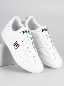 Sportovní bílé tenisky značky Fila