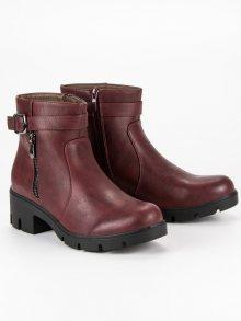 SMALL SWAN Dámské kotníkové boty Q613WI