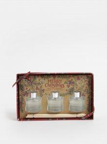 Sada tří difuzérů s vůní jablka a skořice v dárkové krabičce SIFCON