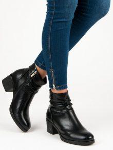 VINCEZA Dámské kotníkové boty XY19-10464B