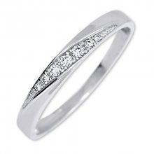 Brilio Pěkný prsten s krystaly 229 001 00602 07 53 mm