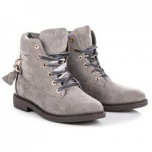 IDEAL Dámské kotníkové boty J-8686G