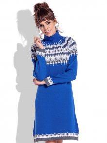 Fobya Dámské šaty F346_Cornflower\n\n
